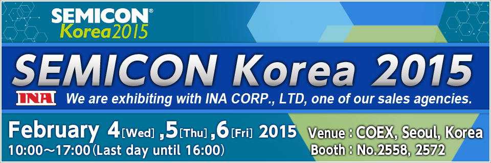 SEMIOCON Korea 2015