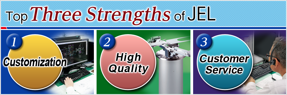 Top three strengths of JEL