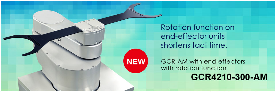 GCR4210 (Robot with end-effectors with rotation function)